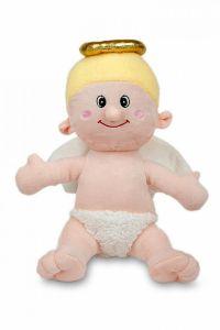 Krásna plyšová hračka Anjel, | 27 cm