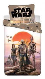 "Bavlnené obliečky Star Wars ""Mandalorian"" | 140x200, 70x90 cm"