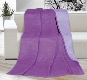 Deka Kira jednofarebná fialová/svetlofialová