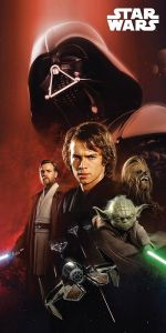 Osuška Star Wars 01 - 75x150 cm