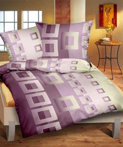 Flanelové obliečky Filip fialový