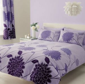 Bavlnené obliečky Valerie fialová