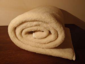 Vlnený matracový chránič z vlneného včesu 90 x 200 cm