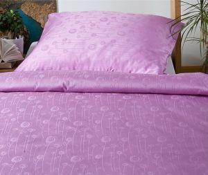 Damaškové obliečky Bohema - Lúčne kvety fialové