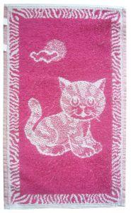 Detský uterák - Mačiatko černicové